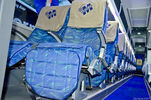 Morning Star Scania Multi Axle Semi Sleeper Seating Layout