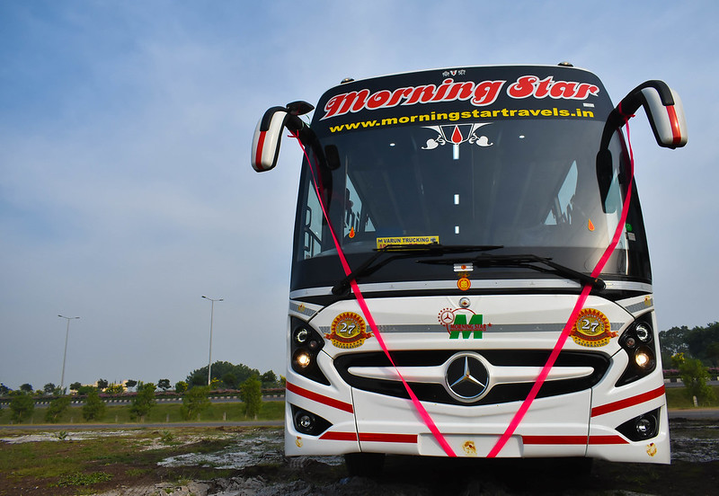Mercedes Benz Multi Axle Bus
